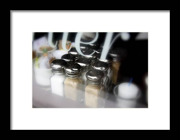 Bistro Framed Print featuring the photograph ..sugar And Spice And All Things Nice... by Russell Styles