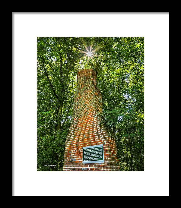Sugar Hill Framed Print featuring the photograph Sugar Hill Cabin by Bluemoonistic Images