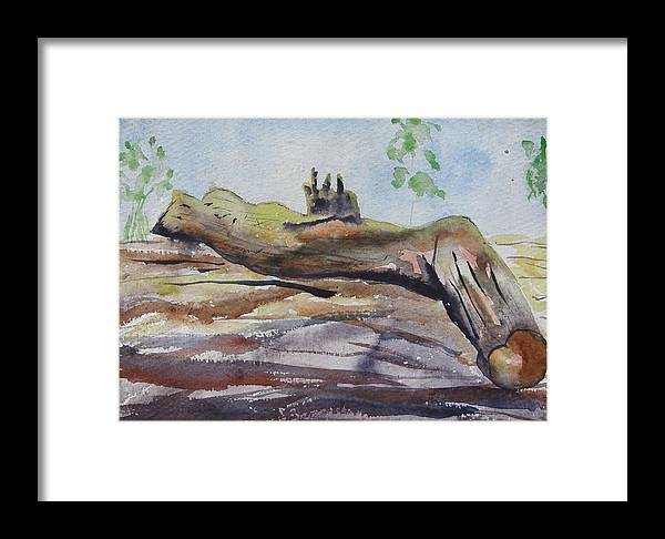 Same Me Or You Will Perish Framed Print featuring the painting Suicide by Rima