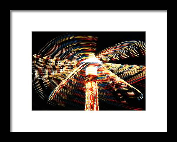 Summer Framed Print featuring the photograph Summer Carnival Fantasia by Brian M Lumley