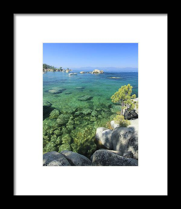 Waterscape Framed Print featuring the photograph Summer Days by Sean Sarsfield