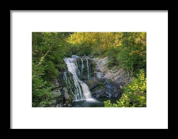 Summer Framed Print featuring the photograph Summer In Water And Green by Darrell Young