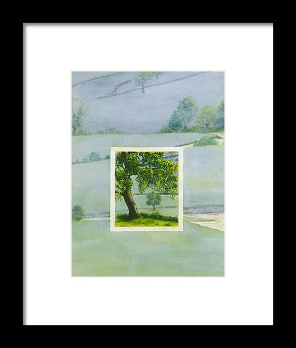 Summer Framed Print featuring the painting Summer by Nancy Ethiel