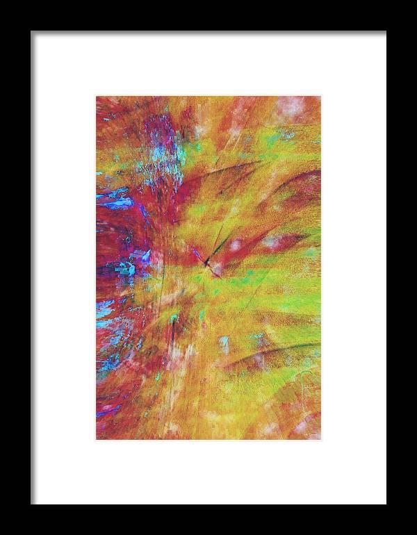 Summer.summertime Framed Print featuring the digital art Summer Splash by Linda Sannuti