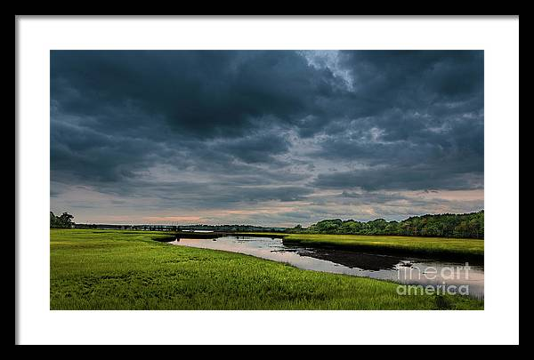 New England Framed Print featuring the photograph Summer Storm by Alex Arig