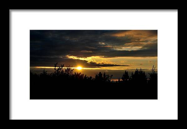 Sunset Framed Print featuring the photograph Summer Sunset by Marilynne Bull