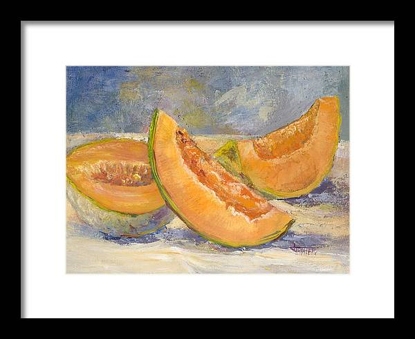 Fruit Framed Print featuring the painting Summer Sweet by Jimmie Trotter
