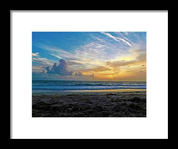 Ocean Framed Print featuring the photograph Summer Winds by Jerry O'Rourke