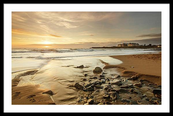 Sun going down over Spanish Point by Ann O Connell
