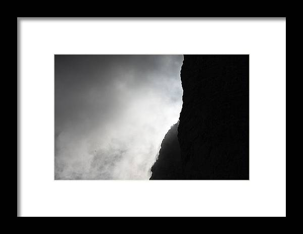 Montagna Framed Print featuring the photograph Sun in the clouds by Marco Missiaja