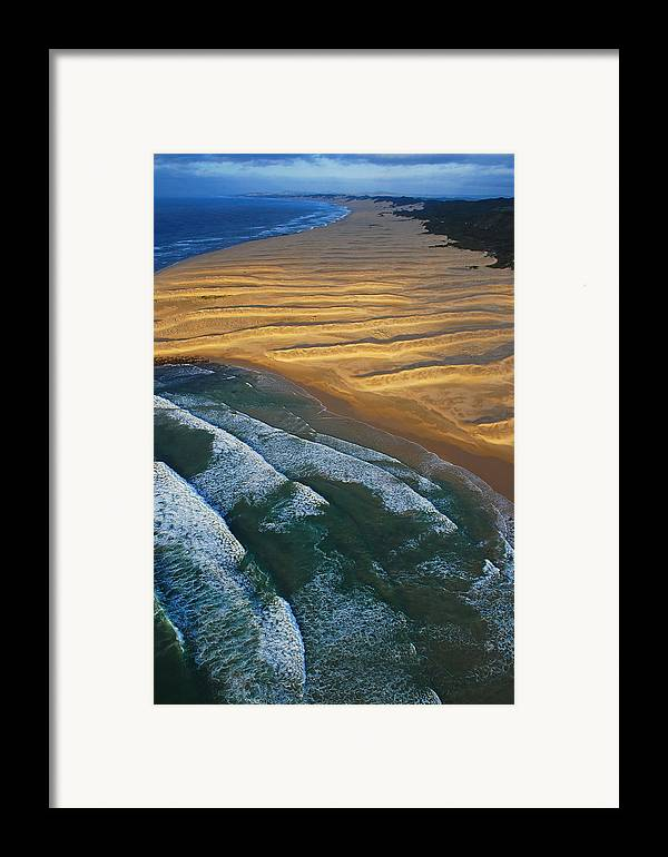 Coast Framed Print featuring the photograph Sun Rise Coast by Skip Hunt