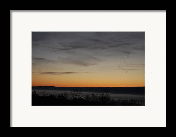 Sunrise Framed Print featuring the photograph Sun Rise Over Nippenose Valley by Richard Botts