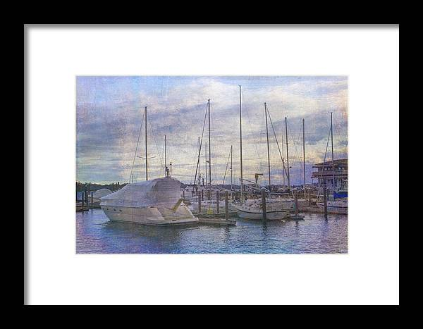 Newport Framed Print featuring the photograph Sun Setting Sun In Newport by Betty Pauwels