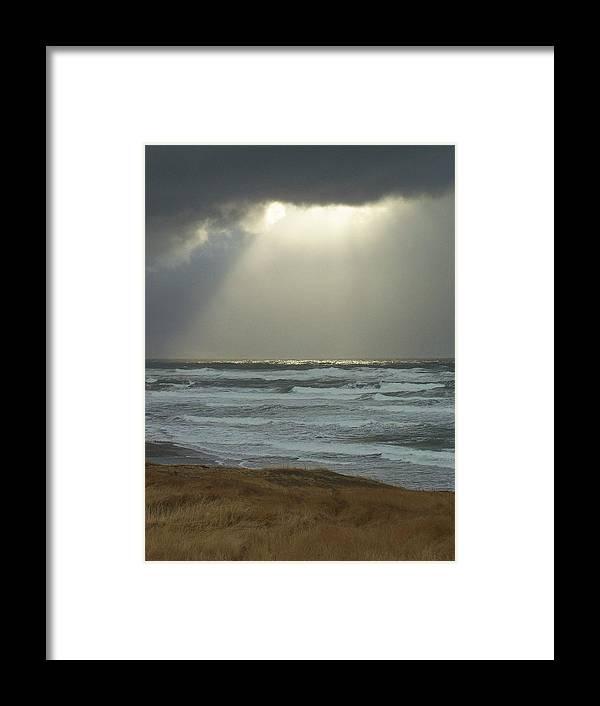 Sun Light Framed Print featuring the photograph Sun Whisper by Gene Ritchhart