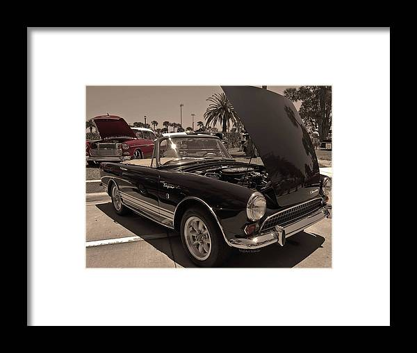 Sunbeam Framed Print featuring the photograph Sunbeams On A Sunbeam by DigiArt Diaries by Vicky B Fuller