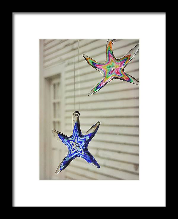 Star Framed Print featuring the photograph Suncatchers by JAMART Photography