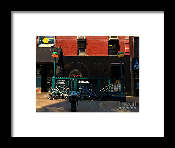 Afternoon Framed Print featuring the photograph Sunday Afternoon by Miriam Danar