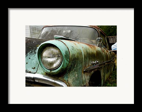 Cars Framed Print featuring the photograph Sunday Drive by Jennifer Owen