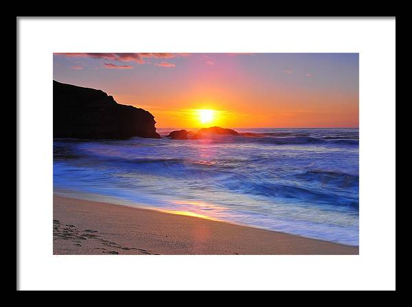 Sunset Framed Print featuring the photograph Sunday Evening by Daren Le