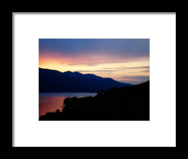 Sunset Framed Print featuring the photograph Sunday by De La Rosa Concert Photography