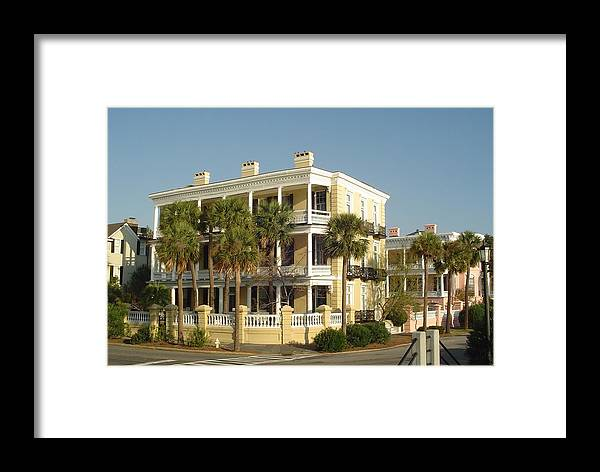 Charleston Framed Print featuring the photograph Sunday Morning On The Battery by Richard Marcus