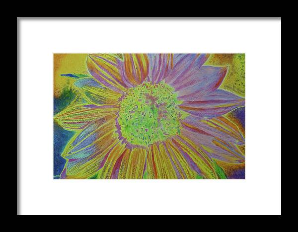 Sunflowers Framed Print featuring the painting Sundelicious by Cris Fulton