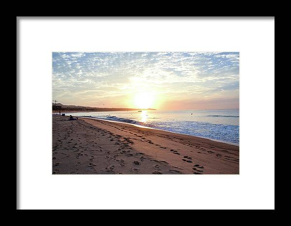 Cabo Framed Print featuring the photograph Sunrise At Medano by Kennard Reeves