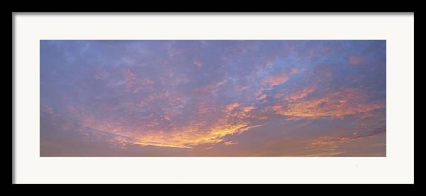 Sunrise Framed Print featuring the photograph Sunrise by Bob Bennett