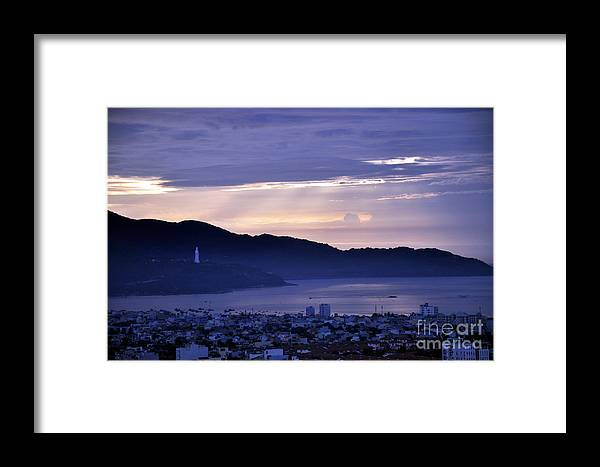 Sunrise In Da Nang Framed Print featuring the photograph Sunrise In Da Nang 2 by Andrew Dinh