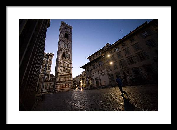 Italy Framed Print featuring the photograph Sunrise In Florence 3 by Luigi Barbano BARBANO LLC