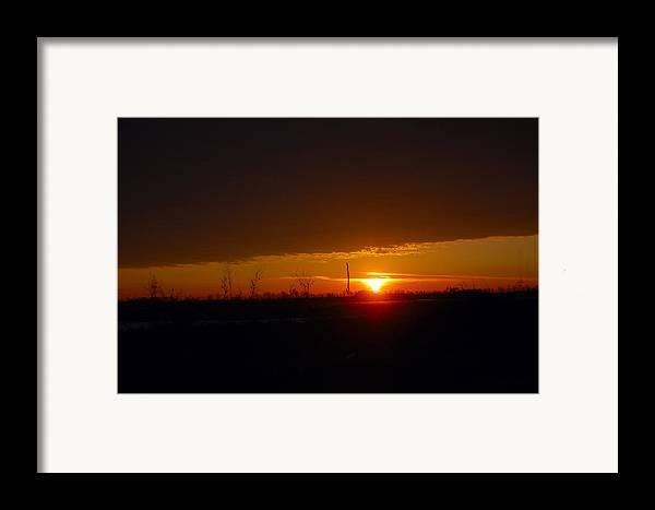 Sunrise Framed Print featuring the photograph Sunrise by Jennifer Englehardt