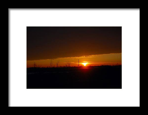 Sunrise Framed Print featuring the photograph Sunrise by Jennifer Englehardt