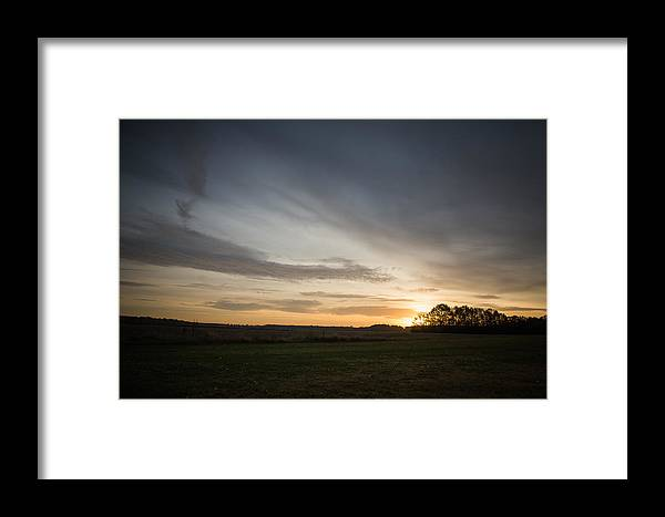 Wildlife Framed Print featuring the photograph Sunrise More Color by Alicia Collins