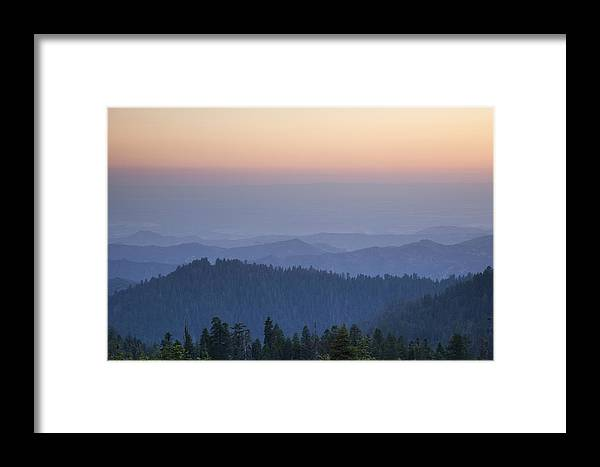 Sequoia National Park Framed Print featuring the photograph Sunrise Of Sequoia by Rick Pham