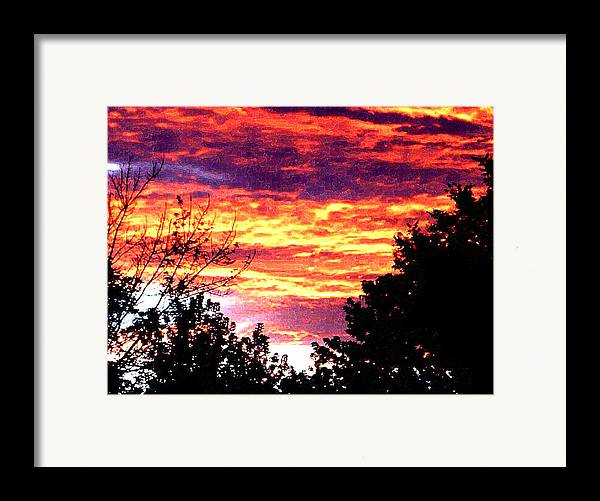 Sunrise Framed Print featuring the photograph Sunrise Over The S.p. by Nathaniel Hoffman