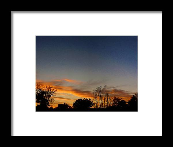 Sunrise Framed Print featuring the photograph Sunrise Surprise by Mark Blauhoefer