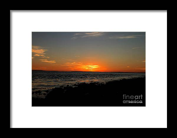 Sunset Framed Print featuring the photograph Sunset At Bass Harbor by Carl Jackson