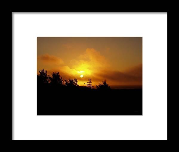 Sunset Framed Print featuring the photograph Sunset by Deborah Crew-Johnson