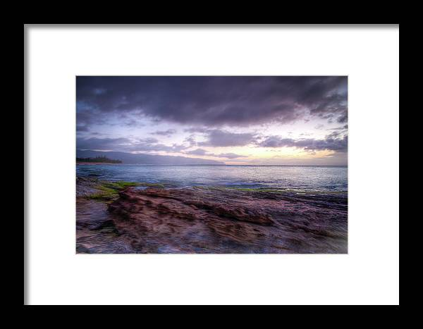 Hawaii Framed Print featuring the photograph Sunset Dream by Break The Silhouette