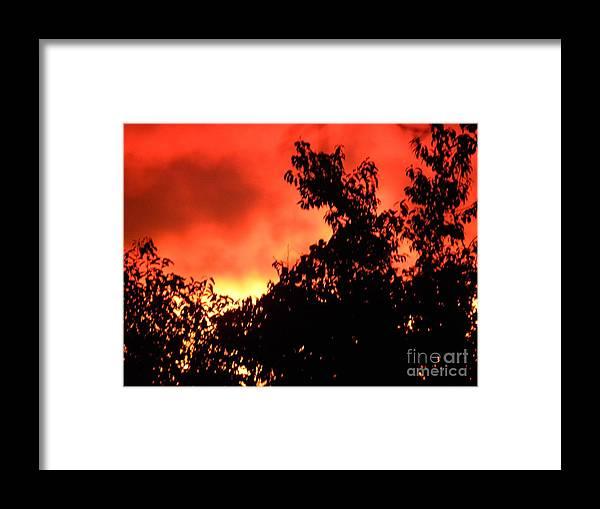 Sunset Framed Print featuring the photograph Sunset II by Belinda Sellari
