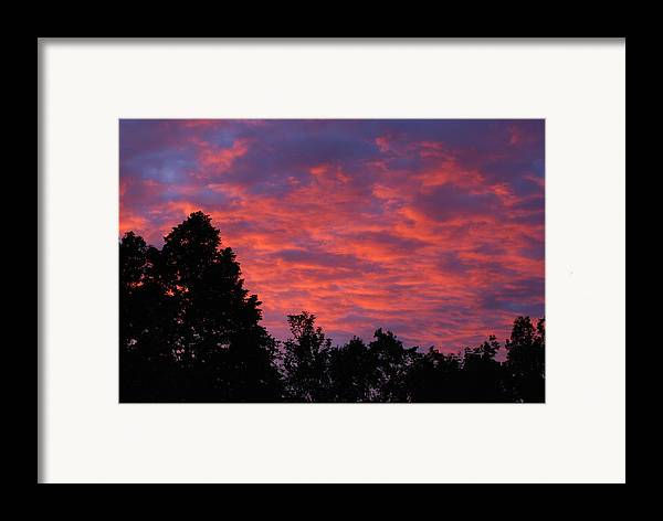 Sunset Framed Print featuring the photograph Sunset In Antioch by Lisa Gabrius