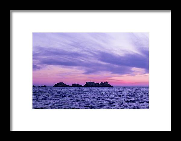 Croatia Framed Print featuring the photograph Sunset In Dubrovnik by Oonabot Photography