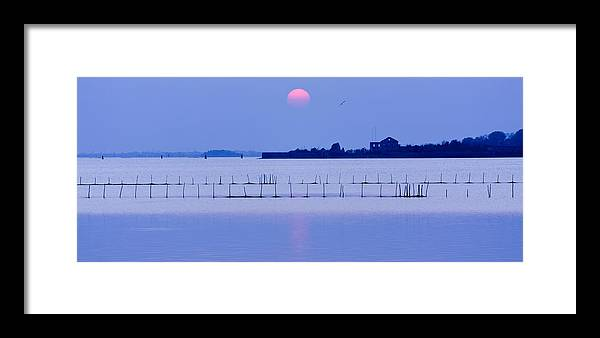 Venice Framed Print featuring the photograph Sunset In Laguna by Marco Missiaja