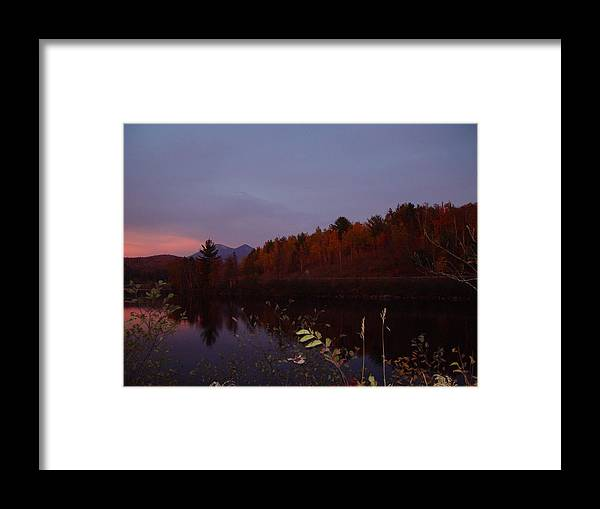 Percy Framed Print featuring the photograph Sunset On Percy Peaks by Dorothea Abbott