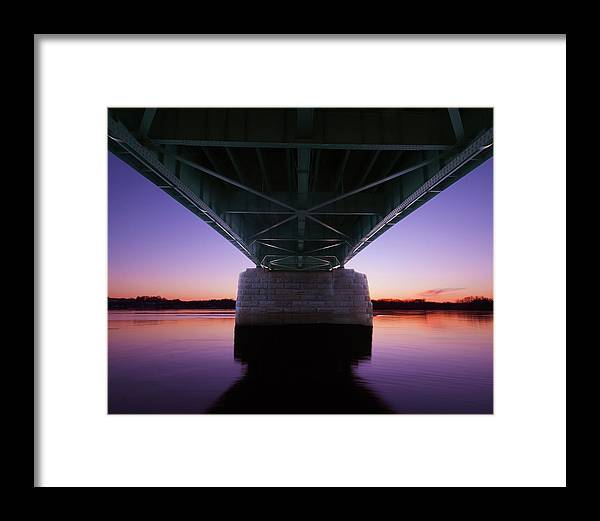 Susquehanna Framed Print featuring the photograph Sunset On The Susquehanna by Jim Cheney