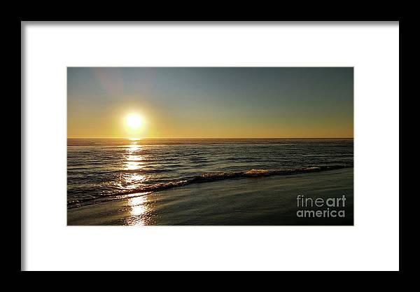 Denise Bruchman Framed Print featuring the photograph Sunset Serenity by Denise Bruchman