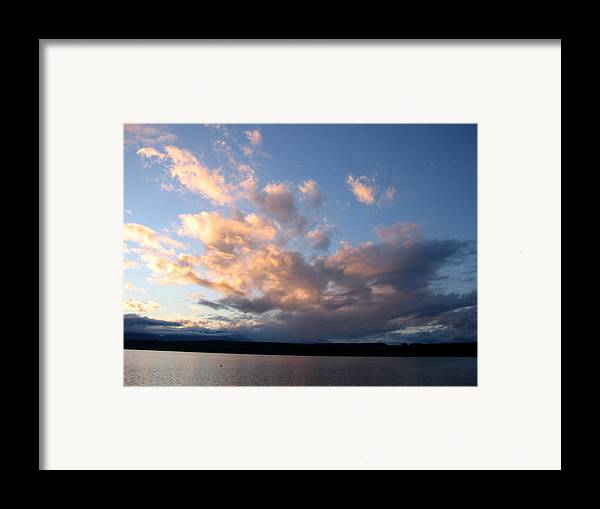 Sunset Framed Print featuring the photograph Sunset Two by Ty Nichols