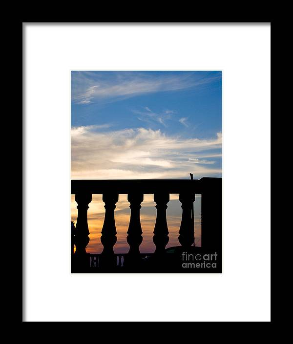 Sunset Framed Print featuring the photograph Sunset Within by Hussein Kefel