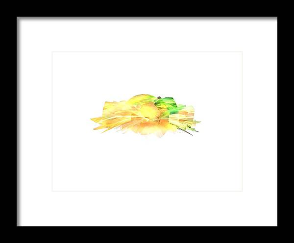 Sun Framed Print featuring the digital art Sunshine by Ilia