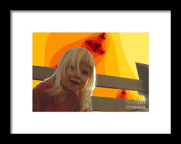 Happy Face Framed Print featuring the photograph Sunshine Makes Me Happy by Ron Bissett